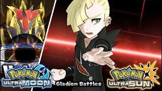 Pokemon UltraSun & UltraMoon - All Gladion Battle (HQ)