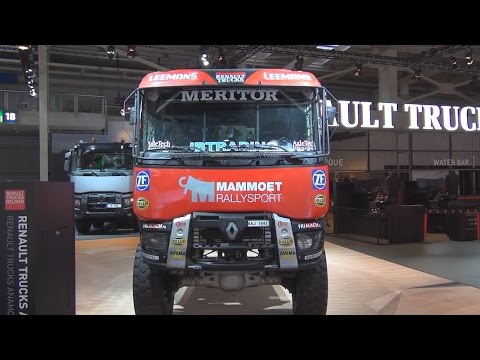 Renault Trucks Mammoet Rallysport Exterior and Interior in 3D