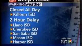 School closures and delays
