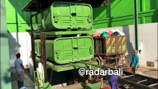 Depo Sampah Hidrolik Pertama Beroperasi