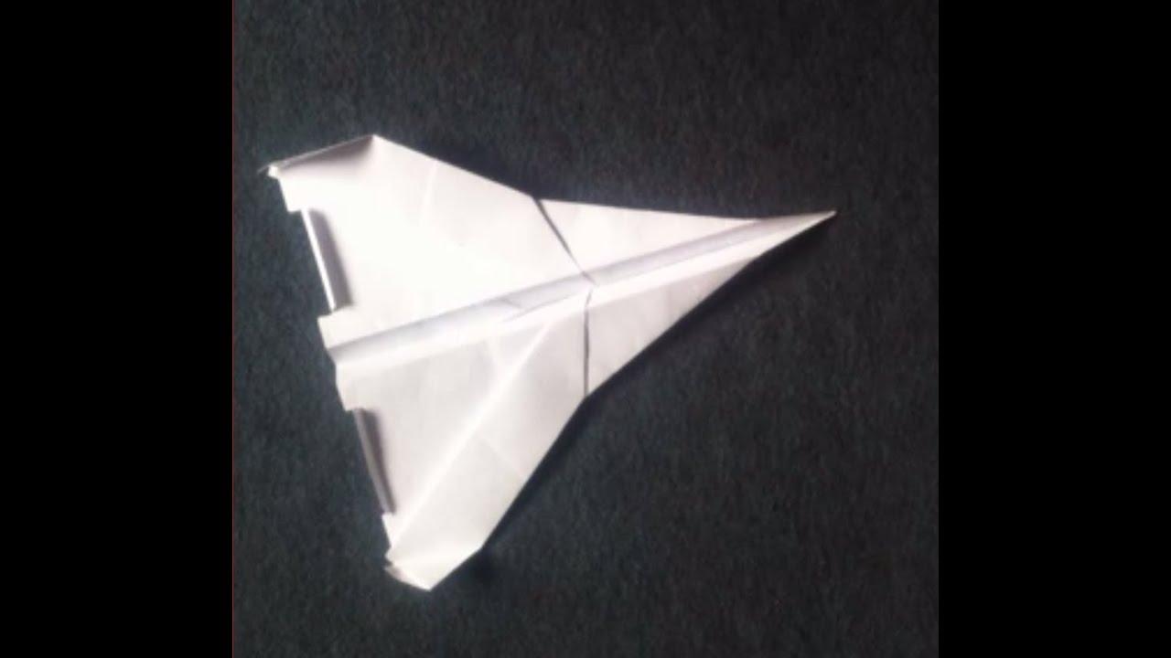 fabriquer un jet avion en papier fabriquer un avion en papier youtube. Black Bedroom Furniture Sets. Home Design Ideas