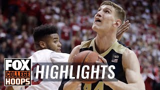 Purdue vs Indiana | Highlights | FOX COLLEGE HOOPS