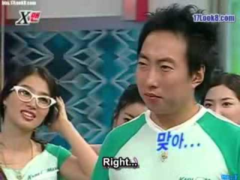 Xman Dangyunhaji   Ayumi Vs Park Myung Soo