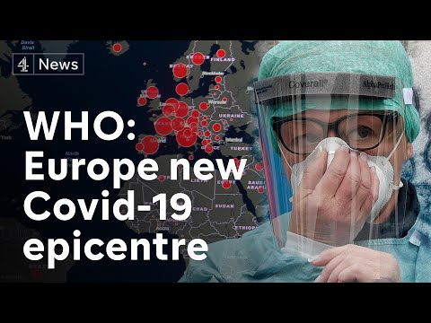 WHO says Europe new coronavirus pandemic epicentre as global covid-19 death toll passes 5,000