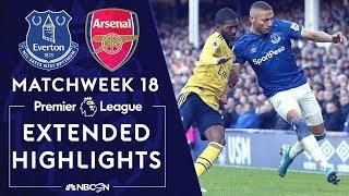Everton v. Arsenal   PREMIER LEAGUE HIGHLIGHTS   12/21/19   NBC Sports