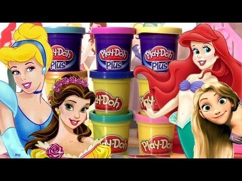 Baixar Massinhas PlayDoh Princesas Disney Vestido de Baile Play-Doh Plus Design a Dress Ballroom playset