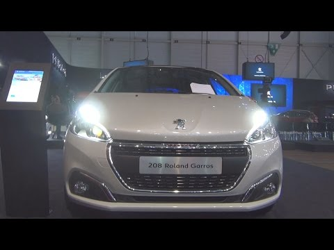Peugeot 208 Roland Garros PureTech 110 Start&Stop EAT6 (2016) Exterior and Interior in 3D