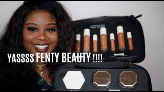 #FENTYBEAUTY PRO FILT'R CONCEALER + FOUNDATION SHADE #445 !  | REVIEW & DEMO