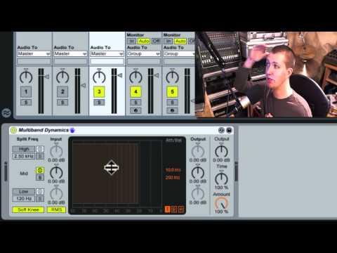 Tracks interact 3: Ableton Live Upward Bus Compression