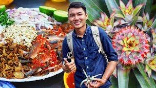 """ĂN GỎI CÁ SỐNG, ĂN KHÓM """"NỮ HOÀNG""""  Du lịch ẩm thực Kiên Giang"""