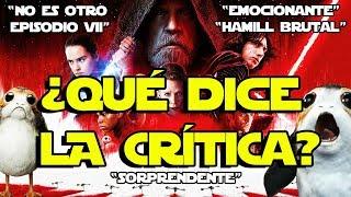 ¿LA CRÍTICA? : !!! SORPRENDENTE STAR WARS VIII - THE LAST JEDI - ÚLTIMOS JEDI - REACTION - SKYWALKER
