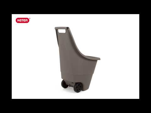 video Keter Easy-Go Breeze kruiwagen 50 liter