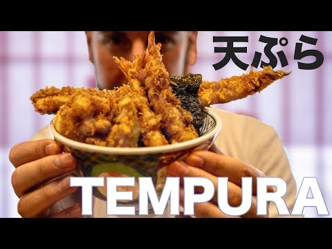 Japanese Tempura, and Martina's Tempura-tantrum