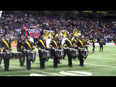 2011 U.S. Army All-American Marching Band Halftime Show