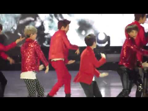 [Fancam] 121130 EXO performing MAMA + Mirotic + Lucifer at #MAMA2012