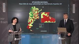 Coronavirus en Argentina: reporte diario del Ministerio de Salud (lunes 25 de enero)