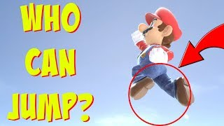 Who Can JUMP in Super Smash Bros Ultimate?