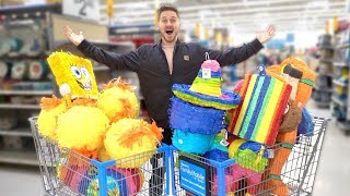 BUYING ALL THE PINATAS FROM WALMART!