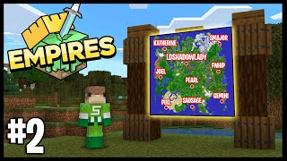 TIME TO MAKE ALLIANCES!!   Minecraft Empires 1.17 SMP   #2