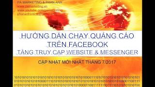 Hướng dẫn chạy quảng cáo trên Facebook: Tăng Lưu lượng truy cập Website & Messenger