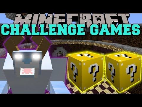 Minecraft: SNOW BEAST CHALLENGE GAMES - Lucky Block Mod - Modded Mini-Game