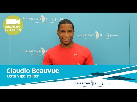 Stars at Aspetar - Claudio Beauvue player of Celta Vigo