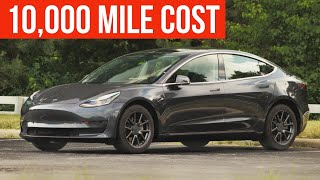 Tesla Model 3: Cost of Ownership after 10,000 miles!