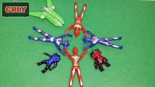 Siêu nhân điện quang phi thuyền Ultraman toy for kid đồ chơi trẻ em