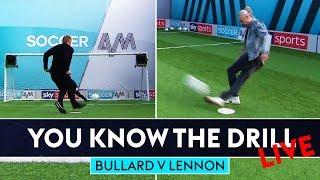 Can Jimmy nail rabona Top Bin? | Jimmy Bullard v Neil Lennon | You Know The Drill Penalty Challenge