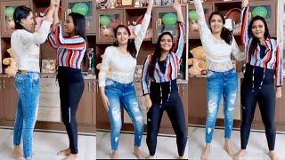 Bigg Boss Himaja & Rohini's funny TikTok dance video..