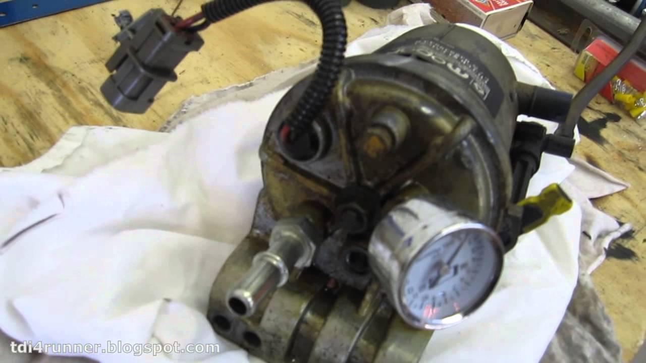 24v Cummins Fuel Heater O Ring Leak Fix On 99 Dodge Ram