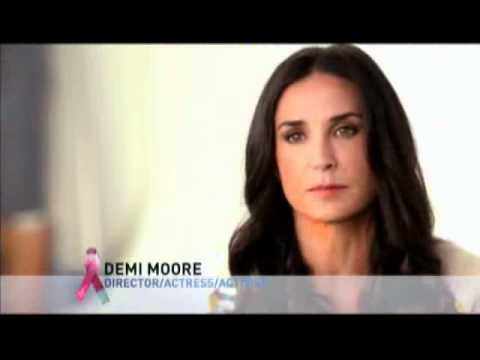 Lifetime TV Breast Cancer Commercial with Demi Moore: Lucia Joins Fight