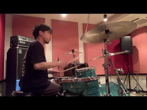 RAMMELLS - Moon    彦坂玄 Studio drum cam.