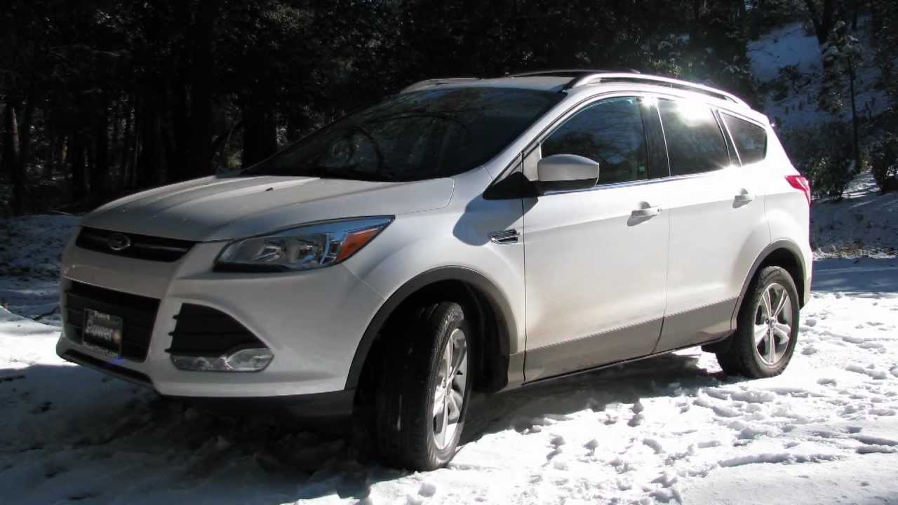 2013 Ford Escape Se 4wd Review Ecoboost 2 0l Turbo