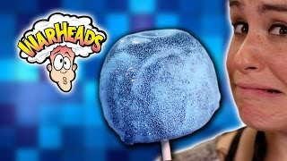 DIY EXTREME SOUR WARHEAD CANDY APPLE