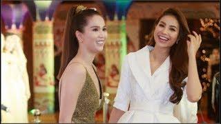 Ngọc Trinh hội ngộ Hoa hậu Phạm Hương cùng đọ sắc vóc trước ống kính