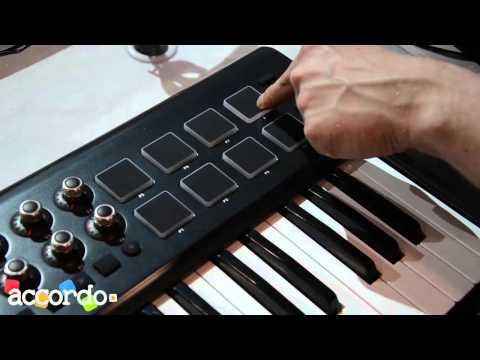 NAMM 2014 - Behringer, Motör series MIDI controller keyboards