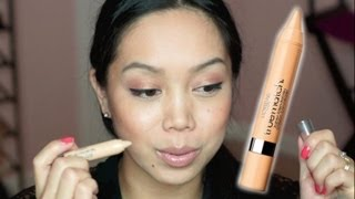 NEW Loreal super blendable concealer crayon First Impression Review - itsjudytime