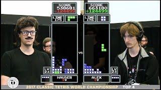 Top 4 - 2017 Classic Tetris World Championship Episode 4