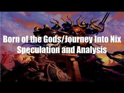 MTG Speculation - Born of the Gods/Journey Into Nix Art Analysis