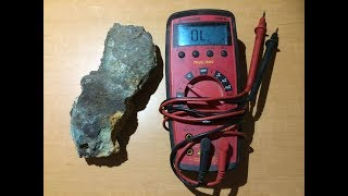 Easy Continuity Gold Testing In Raw Ore With Multimeter - How to / DIY