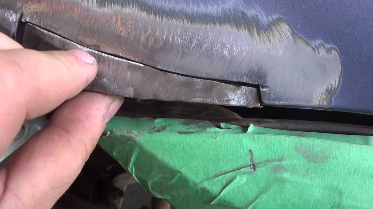 How To Repair Rust And Weld Body Panels Youtube