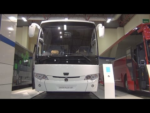 TEMSA Safir Plus VIP Bus (2016) Exterior and Interior in 3D