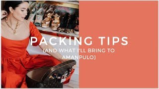 COME PACK WITH ME: AMANPULO BEACH ESSENTIALS | Heart Evangelista