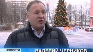 Новогоднее убранство города Видное
