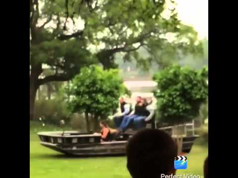 Airboat Wedding