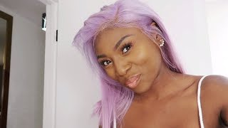 IS MY HAIR REALLY THIS COLOUR FOR COACHELLA? LA VLOG
