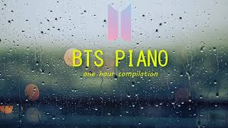 1 HOUR BEST OF BTS PIANO DNA, Spring Day, I Need U ... Music for Studying and Sleeping Piano VGK - YouTube