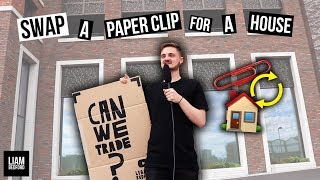 Trading A Paper Clip For A House! (Swap Challenge)