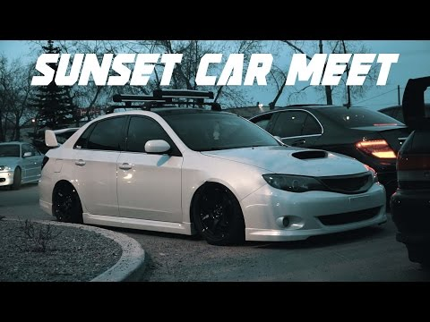 Chill Sunset Car Meet